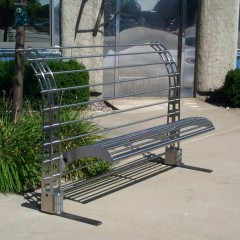 Bench-Railing Custom Fabricated