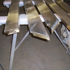 Custom Bronze Grilles
