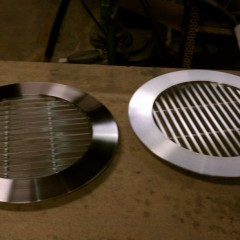 Round Grille - Stainless Steel