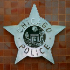 Chicago Police HQ Sign