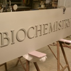 Biochemistry Sign