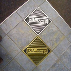 Floor Plaque - Company Logo