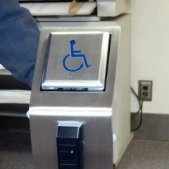 Security Pedestal (w/Handicap Button)