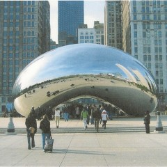 Cloud Gate Fabrication - Millenium Park