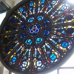 Large Stained Glass Frame