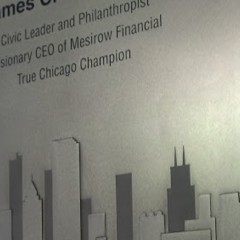 CEO Mesirow Financial Plaque